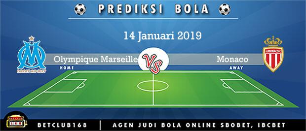Prediksi Olympique Marseille Vs Monaco 14 Januari 2019